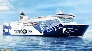 Tallinnast väljuv Eckerö Line'i laev Finlandia osaleb toetusstreigis |  Eesti | ERR